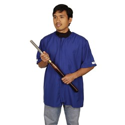 Woodturning Jackets with Short Sleeves - X-Large