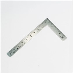 SHINWA Mini Carpenters L-Square 10cm x 5cm