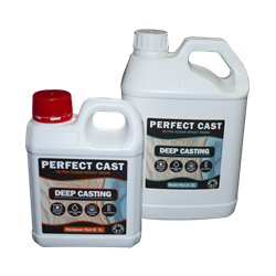 Perfect Cast 2 Part Resin and Hardener - Deep - 3 litre Kit