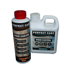 Perfect Cast 2 Part Resin and Hardener - Rigid - 1.5 litre Kit
