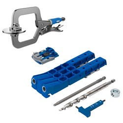 Kreg Pocket-Hole Jig 320 Promo Pack - Free Classic Face Clamp