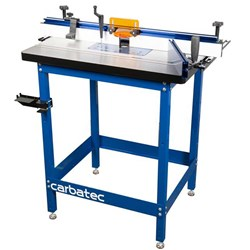 Carbatec Pro Deluxe Router Table Kit with Cast Iron Top